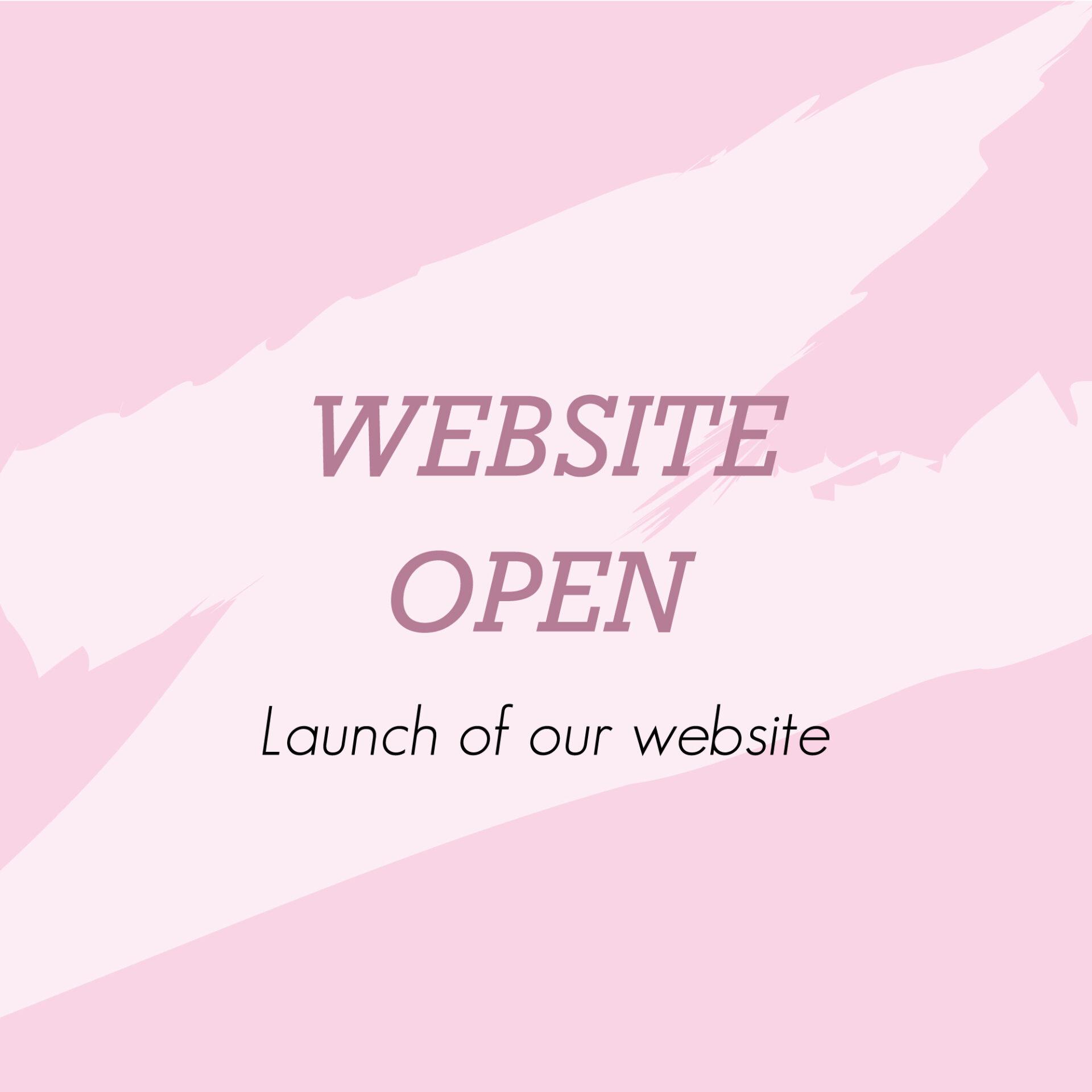 Website Open!!