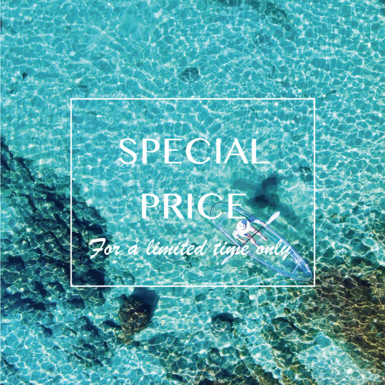 <Limited Time Only> SPECIAL PRICE